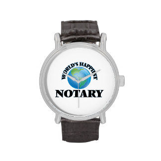 World's Happiest Notary Watches
