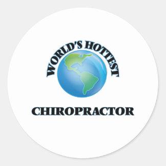 World's Hottest Chiropractor Stickers