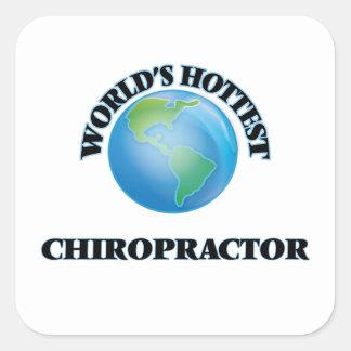 World's Hottest Chiropractor Sticker