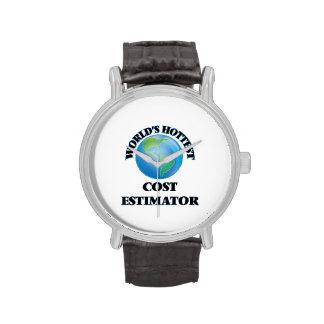World's Hottest Cost Estimator Wristwatch