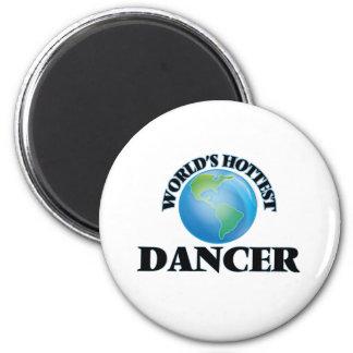 World's Hottest Dancer Refrigerator Magnets