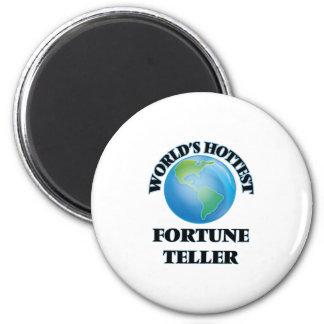 World's Hottest Fortune Teller Fridge Magnet