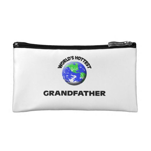 World's Hottest Grandfather Cosmetic Bag