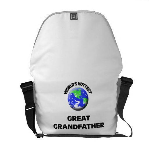 World's Hottest Great Grandfather Messenger Bags