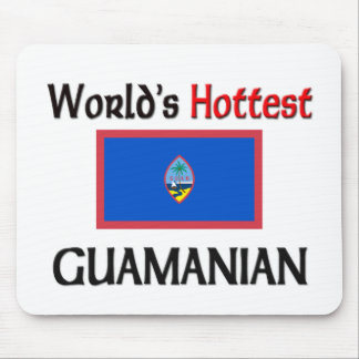 World's Hottest Guamanian Mouse Pad