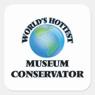 World's Hottest Museum Conservator Sticker