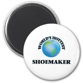 World's Hottest Shoemaker Fridge Magnet