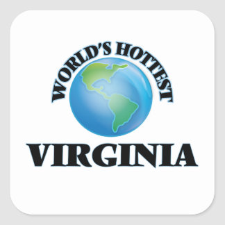 World's Hottest Virginia Stickers