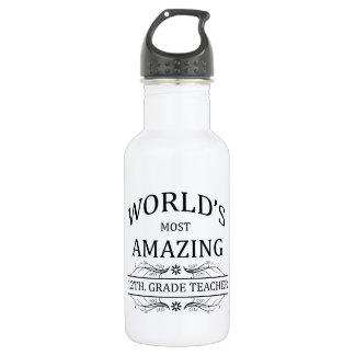 World's Most Amazing 12th. Grade Teacher 532 Ml Water Bottle