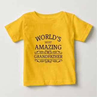 World's most amazing grandfather baby T-Shirt