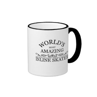 World's most amazing Inline Skater Ringer Mug