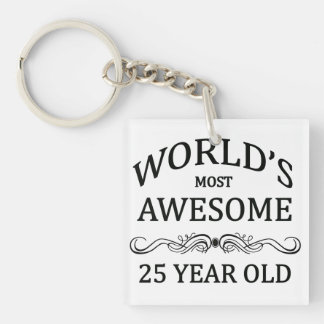 World's Most Awesome 25 Year Old Key Ring