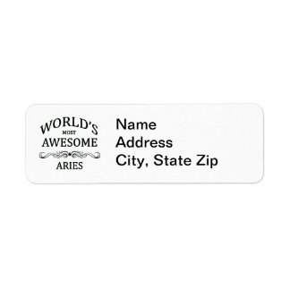 World's Most Awesome Aries