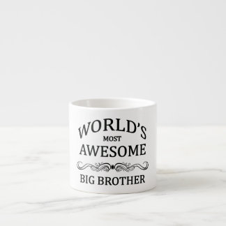 World's Most Awesome Big Brother Espresso Cup
