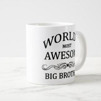 World's Most Awesome Big Brother Large Coffee Mug