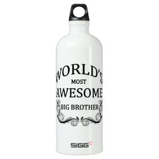 World's Most Awesome Big Brother SIGG Traveller 1.0L Water Bottle