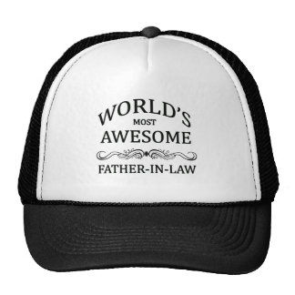 World's Most Awesome Father-In-Law Cap