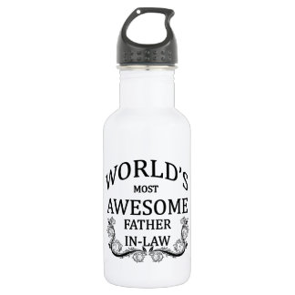 World's Most Awesome Father-In-Law 532 Ml Water Bottle