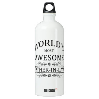 World's Most Awesome Father-in-Law SIGG Traveller 1.0L Water Bottle