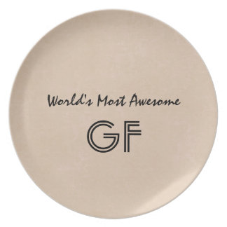 World's Most Awesome Godfather Sand Gift Item V01 Plate