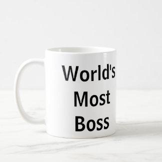 """World's Most Boss"" - Funny Mug"