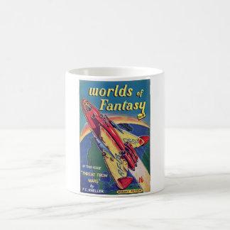 Worlds of Fantasy No. 6 _August 1952_ Bri Pulp Art Basic White Mug