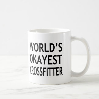 World's Okayest Crossfitter funny Coffee Mug