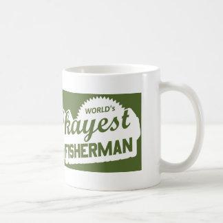 World's Okayest Fisherman Coffee Mug