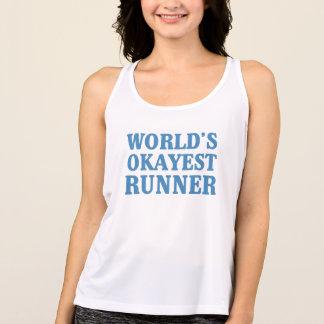 World's Okayest Runner Singlet