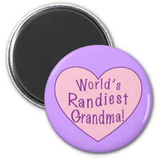World's Randiest Grandma Magnet