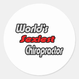 World's Sexiest Chiropractor Stickers