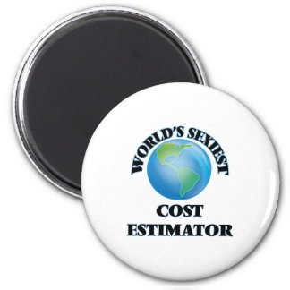 World's Sexiest Cost Estimator Refrigerator Magnet
