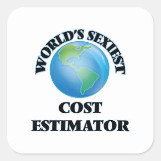 World's Sexiest Cost Estimator Sticker