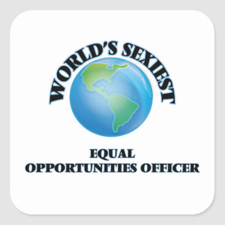 World's Sexiest Equal Opportunities Officer Sticker