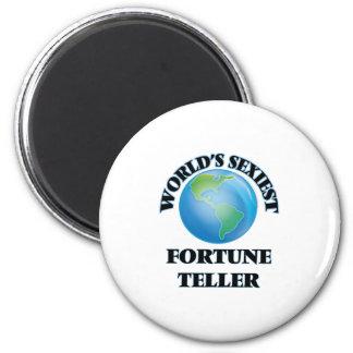 World's Sexiest Fortune Teller Magnet