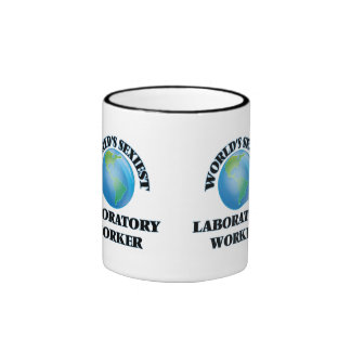 World's Sexiest Laboratory Worker Ringer Mug