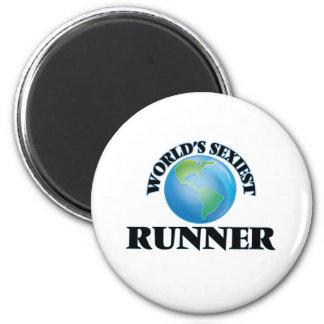 World's Sexiest Runner Fridge Magnets