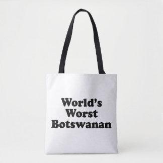 World's Worst Botswanan Tote Bag