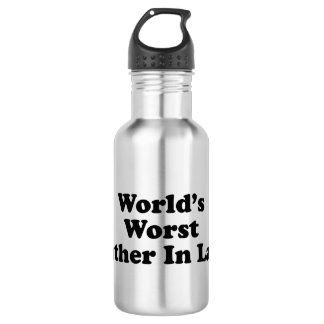 World's Worst Father In Law 18oz Water Bottle