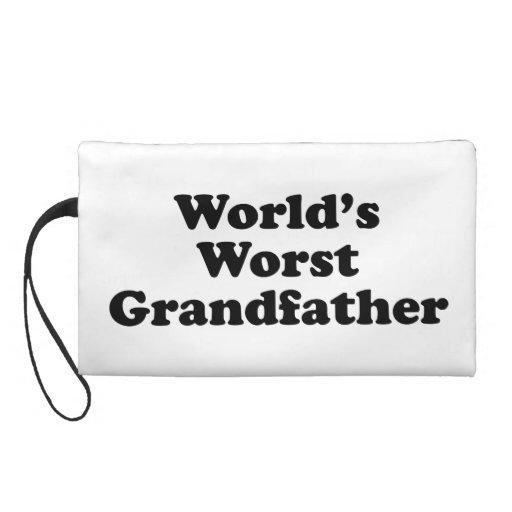 World's Worst Grandfather Wristlet Clutches