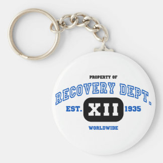 WORLDWIDE Recovery Basic Round Button Key Ring
