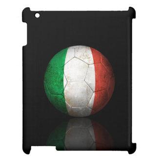 Worn Italian Flag Football Soccer Ball Case For The iPad 2 3 4