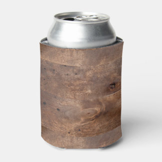 Worn pine board can cooler