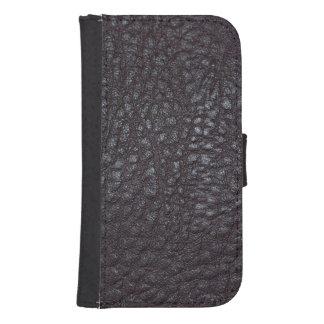 Worn Textured Leather Samsung S4 Wallet Case