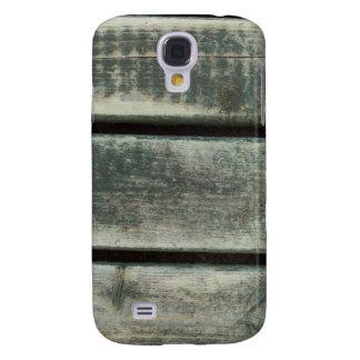 Worn wooden grain galaxy s4 case