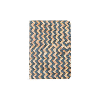 Woven Bamboo Passport Holder