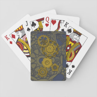 Woven Clockwork Classic Playing Cards