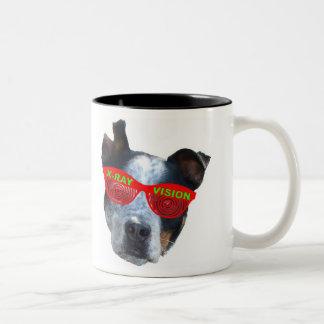 Wowzerz! Two-Tone Coffee Mug