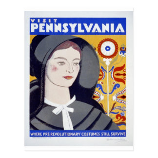 WPA - Visit Pennsylvania Postcard