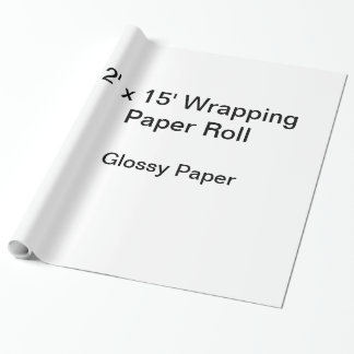 Wrapping Paper (2x15 Roll, Glossy Paper)
